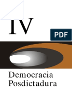 Democracia Post Dictadura