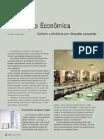 Iluminação economica - fluorescentes compactas
