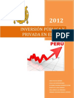 Inversion Publica y Privada