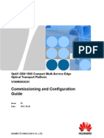 Commissioning and Configuration Guide(V100R003C01_01)