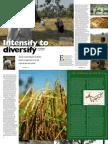 RT Vol. 4, No. 1 Intensify to diversify