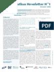 eSanga Newsletter 1