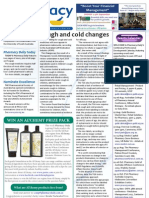 Pharmacy Daily for Fri 06 Jul 2012 - Kids cough and cold changes, Excellence Awards, Postnatal depression and much more...