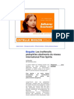 Les Inoffensifs P-dophiles Abstinents Du R-seau Internatio