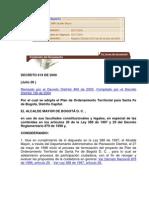 Decreto 619 de 2000 Adoptar POT Bogota