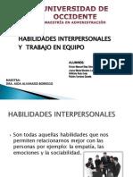 DIAPOSITIVAS HABILIDADES INTERPERSONALES
