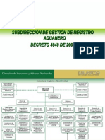 Induccion Subdireccion de Registro Aduanero