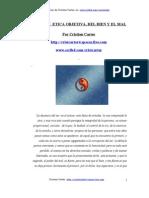 Etica Objetiva, Del Bien y El Mal, Cristian Carter