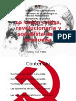 Exposicion Economia Socialista