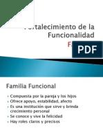 Fortalecimiento de La Funcionalidad Familiar
