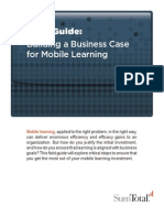 Building a Business Case for Mobile Learning