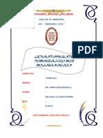 Informe de Levantamiento Topografico Por Poligonacion