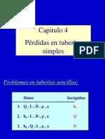 4[1]. Problemas en Tuberias Simples