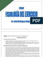 FISIOLOGÍA DEL EJERCICIO.Material