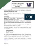 Football Agent Calendar