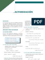 8 FACTORIZACIÓN