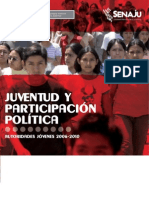 Juventud y Partic i Pac i on Politica