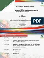 Majlis Pelancaran Mini MAHA Pekan oleh YAB Perdana Menteri