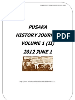 Pusaka History Journal Volume 1 Jilid 2