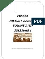 Pusaka History Journal Volume 1 Jilid 2