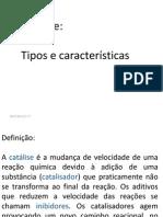 Catalise - Cinética Química (1)