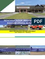 Master Plan Bandara Nusawiru 2011