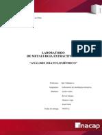 Analisis Granuometrico Laboratorio Metalurgia Listo