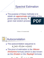 2-FFT-Based Power Spectrum Estimation