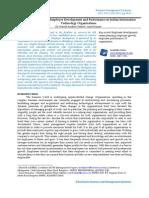 Careeer & Performance Development