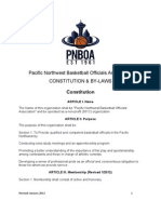 Constitution & By-Laws Revised 1/2012