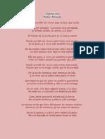 Poema #20 - Pablo Neruda