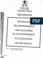 Metodologia Entrenamiento Alto Rendimiento (Quetglas)