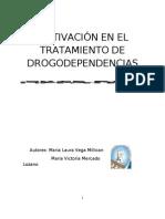 MOTIVACIÓN EN EL TRATAMIENTO DE DROGODEPENDENCIAS_monografía