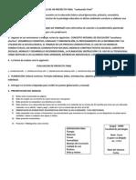 Planeacion y Lineamiento Para El Alumno