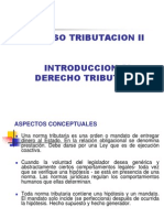 Tributacion II Introduccion a la Tributación