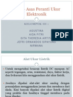 3Asas – Asas Peranti Ukur Elektronik