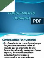 CONOCIMIENTO HUMANO
