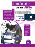 visualiser (Genee-Vision6100)