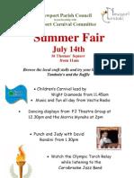 Summer Fair Poster 2012