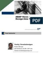 ABAP DesignTime Tools
