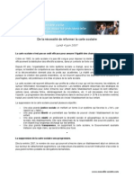 Réforme de carte scolaire - Nicolas Sarkozy