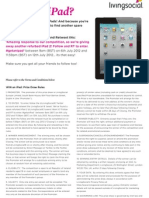 iPad Comp Ts and Cs