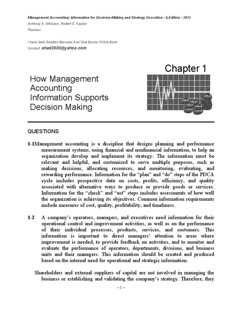 akmy 6e ch01 sm management accounting strategic management rh scribd com