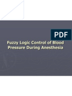 Fuzzy Logic Control of Blood Pressure During Anesthesia