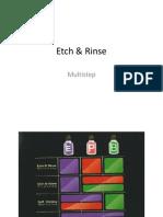 Etch & Rinse