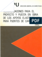 Recomendaciones Apoyos Elastomericos_MOPU-1982