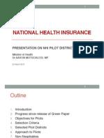 DoH Presentation on NHI Pilot Sites