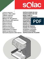Manual Solac CE4550