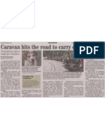Caravan hits the road to carry dogs to safety