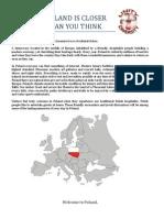 Poland is Closer